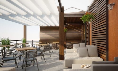 Cafe Design with Sophisticated and Cozy atmosphere